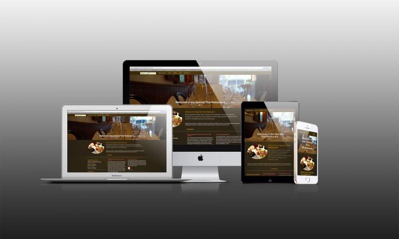 Special Thai Restaurant Responsive Website