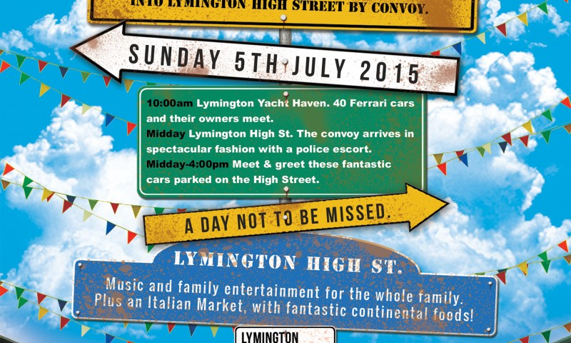 Lymington Piazza Italia 2015